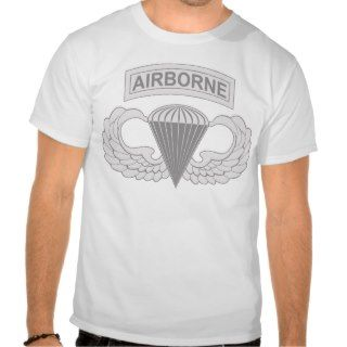 Airborne Jump Wings T Shirt