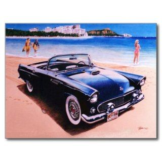 1955 Ford Thunderbird Postcards