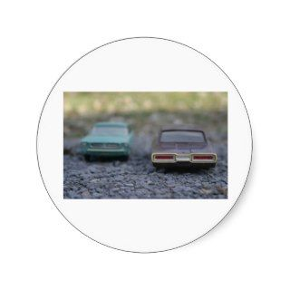 Vintage Ford Thunderbird and Mustang Models Stickers