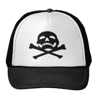 Jolly Roger #4 Trucker Hat