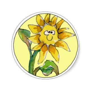 Sunflower Clipart Sticker 9