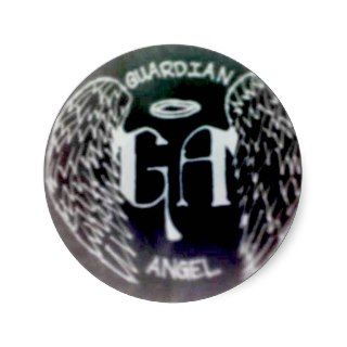 Guardian Angel Spectrum Sticker