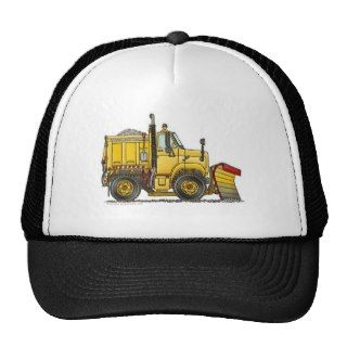 Snow Plow Truck Hats