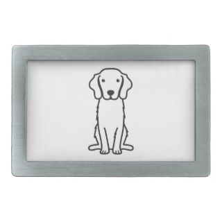 Nova Scotia Duck Tolling Retriever Dog Cartoon Belt Buckle