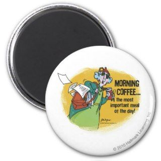 Maxine Morning Coffe Magnet