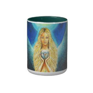 Healing Angel Coffee Mugs