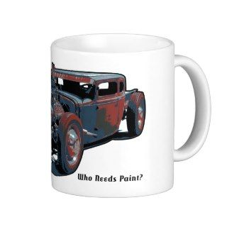 Rat Rod   Paint Coffee Mugs