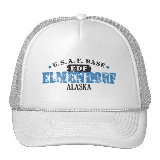 Air Force Base   Elmendorf, Alaska Hat