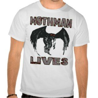 MOTHMAN LIVES SHIRT