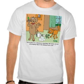 Dog Cartoon Gifts For Dog Lovers Tee Shirts