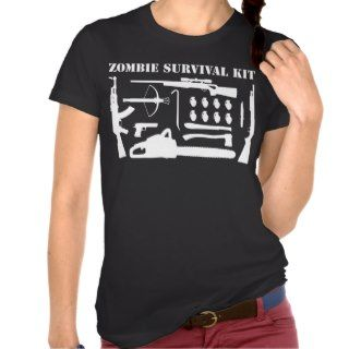 Zombie Survival Kit Tshirt