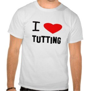 Heart tutting T Shirts