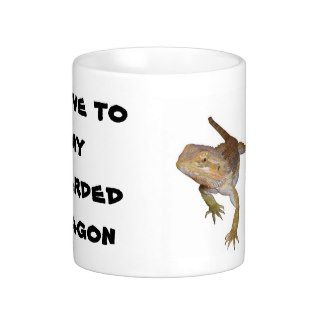 Slave to my Bearded Dragon Coffee Mug