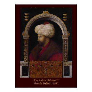 Sultan Mehmet II Canvas Print