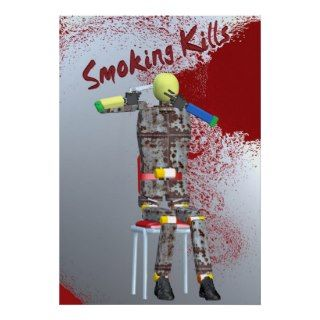 smoking kills print