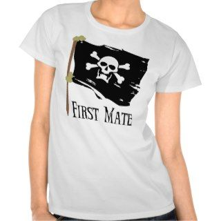 Jolly Roger First Mate Tshirt