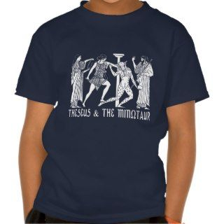 Theseus & The Minotaur Tshirt