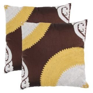 Jacque Pillow Set   Finch   Decorative Throw Pillow Sets