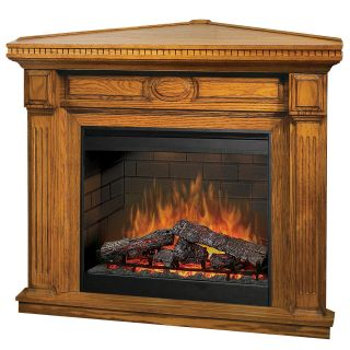Dimplex Stratford Oak Corner Electric Fireplace   Electric Fireplaces