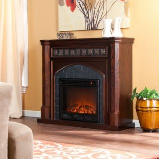 Lake Austin Espresso Electric Fireplace   Electric Fireplaces at