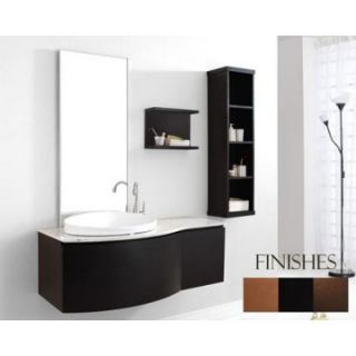 Virtu USA Isabelle 48 in. Single Sink Bathroom Vanity Set   Espresso