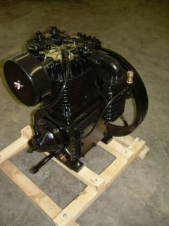New 5 Horsepower Cast Iron 2 Stage Air Compressor Pump