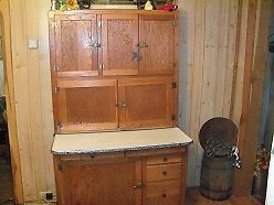 Antique Hoosier Cabinet Excellent Condition