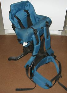 Evenflo Gerry Trailtech Baby Backpack Child Carrier Excellent