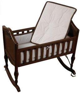 Baby Doll Bedding Minky Diamond Cradle Bedding Set Chocolate