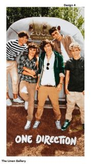 One Direction Beach Bath Pool Towel Genuine Fully Licensed Product New