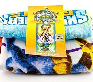 "Skylanders Giants Spyro 28"" x 58"" Beach Bath Pool Towel Boys Kids"