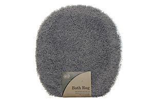 Country Sea Blue Bath Rug Toilet Seat Lid Cover Carpet Nylon Bathroom Decor New