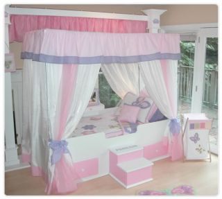 ... Butterfly Princess Canopy Bed Twin Bedding Girls Bed ... & kids canopy bedding on PopScreen