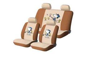 Lovely Pattern Of Snoopy Car Seat Cover
