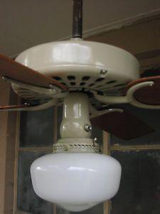 Powermate 60 gallon cast iron oil lubricated belt drive industrial air hunter original 22046 cast iron oil immersion bearing ceiling fan restored aloadofball Gallery