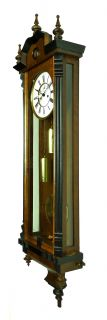Antique German Wall Clock at 1900 Unknow Trademark