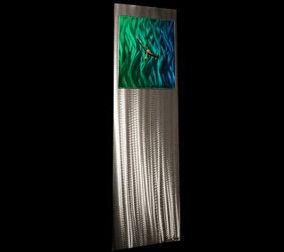 Abstract Modern Metal Art Wall Clock Sculpture Original