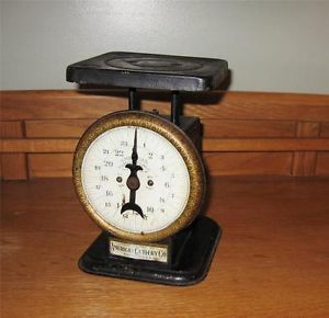 Vintage 1912 Scales American Cutlery Co Chicago American Family Scale