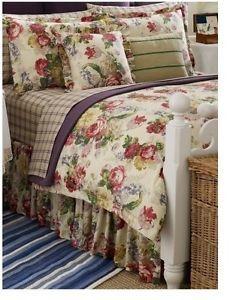 Ralph Lauren Surrey Garden Rose Floral King Duvet Comforter Cover New in Package