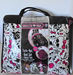 New Monster High Twin Bedding Set Reversible Comforter Sheet Frankie Stein
