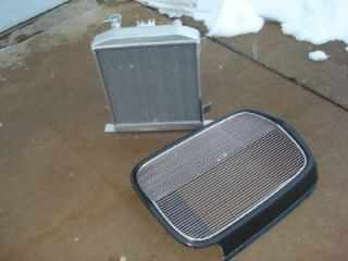 "1932 Ford 2"" Chopped Rad Grill Shell Model A Rat Rod"