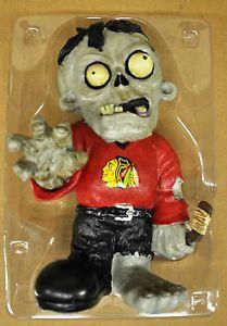 Chicago Blackhawks Zombie Decorative Garden Gnome Figure Statue New NHL