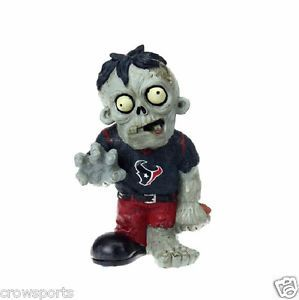Houston Texans Zombie Garden Gnome Resin Statue Gift NFL New