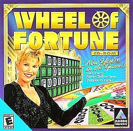 Wheel of Fortune CD ROM Jewel Case PC, 1999