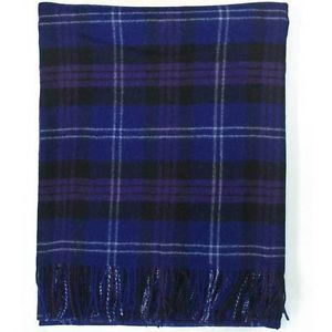 New Scottish Pure Wool Tartan Blanket Throw Rug