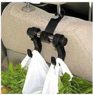 2X Vehicle Auto Car Seat Bag Hook Headrest Accessories Hanger Holder Organizer