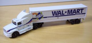 "HO Trains Die Cast Wal Mart ""Sam's Club"" Semi Truck with Trailer"
