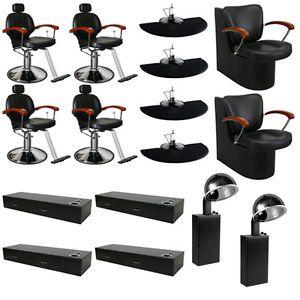 Beauty Salon Equipment Styling Chair Mat Hair Dryer Wall Mount Station DP 70g