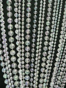 Beaded Curtains Multi Crystal Ball Chains Hanging Beads for Wedding Backdrops