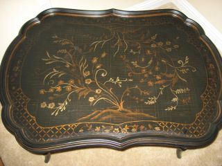 Ethan Allen Mirabelle Chinoiserie Coffee Table